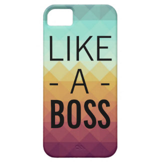 Like a Boss Phone Case iPhone 5 Cover