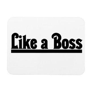 Like a Boss Rectangular Magnets