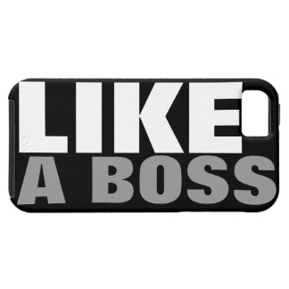 LIKE A BOSS TOUGH iPhone 5 CASE