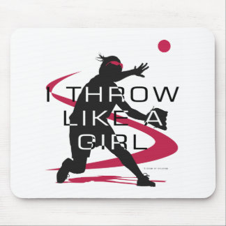 Like a girl D Mouse Pad