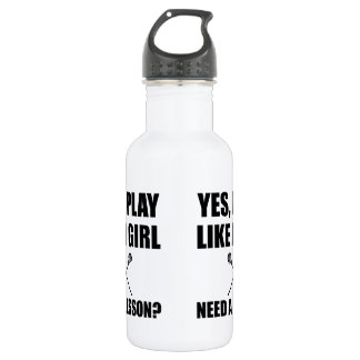 Like A Girl Lacrosse 532 Ml Water Bottle