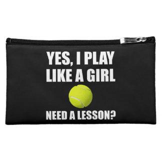 Like A Girl Tennis Cosmetics Bags