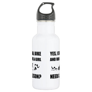 Like A Girl Triathlon 532 Ml Water Bottle