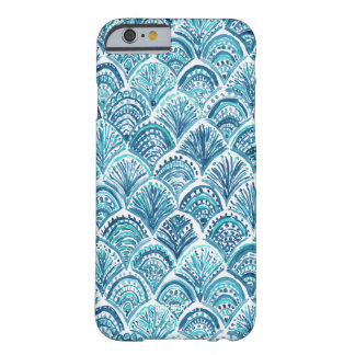 LIKE A MERMAID Nautical Fish Scales Pattern Barely There iPhone 6 Case