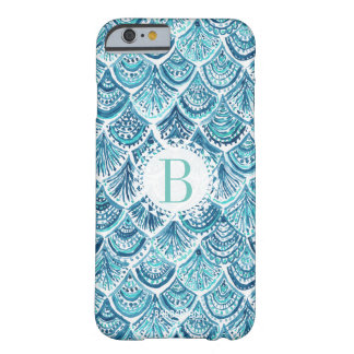 LIKE A MERMAID Watercolor Fish Scales | Custom Barely There iPhone 6 Case