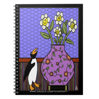 Like A Penguin To Daffodils Notebook