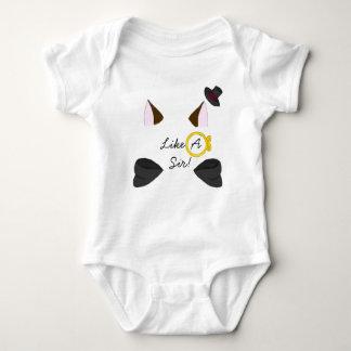 Like A Sir! Baby Bodysuit