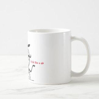 Like a Sir Mug! Basic White Mug