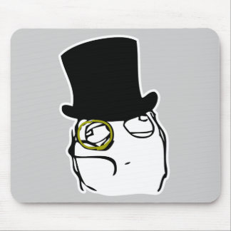 Like a Sir Rage Face Meme Mouse Pad