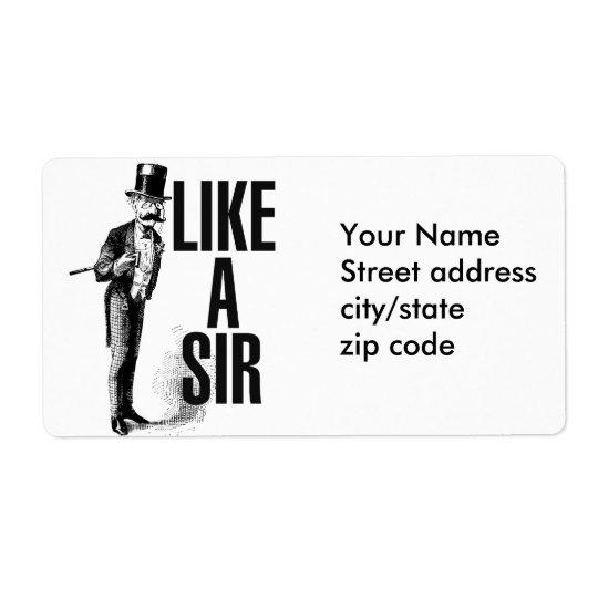 Like a SIR Stache