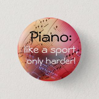 Like a sport 3 cm round badge
