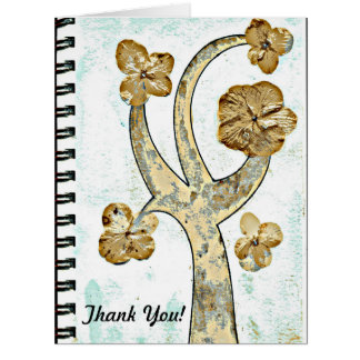 Like a Tree - Thank You greeting/note card