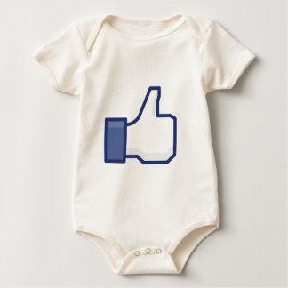 like baby bodysuit