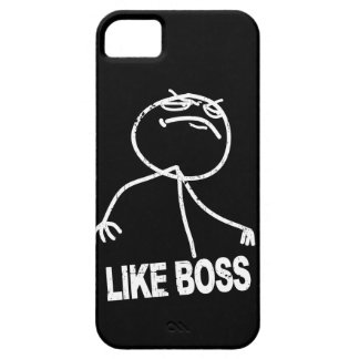 Like Boss meme Barely There iPhone 5 Case