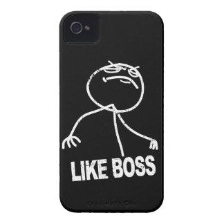 Like Boss meme iPhone 4 Cover