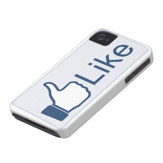 Like Button iPhone 4 Case Mate