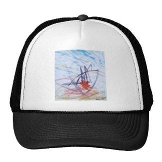 Like Elephants Painting Abstract Best Square Trucker Hat