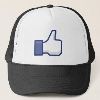 Like Hand - FB Thumbs Up Trucker Hat