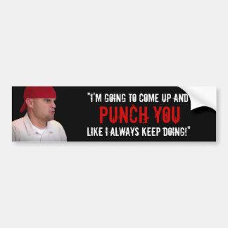 """Like I Always Keep Doing"" Bumper Sticker"