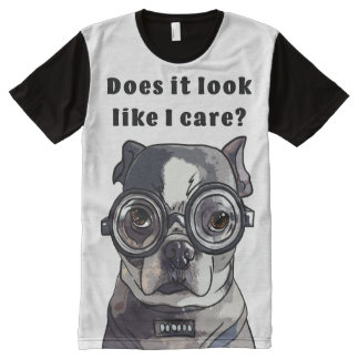 Like I Care - Cute Dog Collection / T-shirt