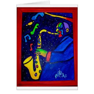 Like Jazz Man by Piliero Card