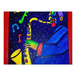 Like Jazz Man by Piliero Card