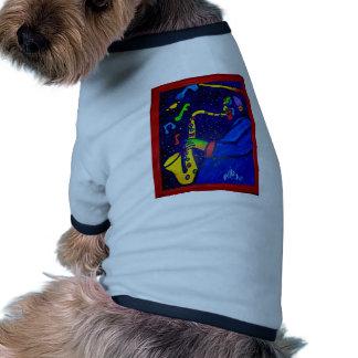 Like Jazz Man by Piliero Dog Tee Shirt
