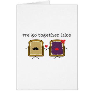 Like PB&J Card
