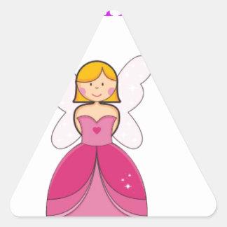 Like princess triangle stickers