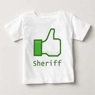 Like Sheriff Baby T-Shirt