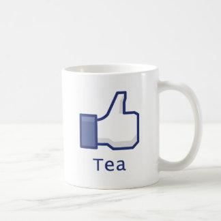 Like Tea Basic White Mug