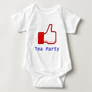 Like the Tea Party Baby Bodysuit