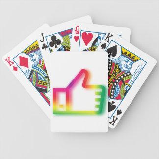 Like this ! bicycle playing cards
