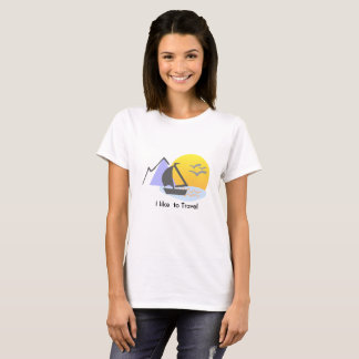 Like ton travel T-shirt