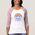 Like Totally 80s rainbow T-Shirt