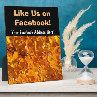 Like us on facebook gifts t shirts art posters other for Like us on facebook sticker template