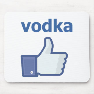 LIKE vodka Mouse Pad