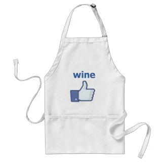 LIKE wine Standard Apron