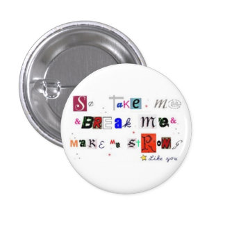 like you 3 cm round badge
