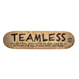 LikeButter TEAMLESS deck 20.6 Cm Skateboard Deck