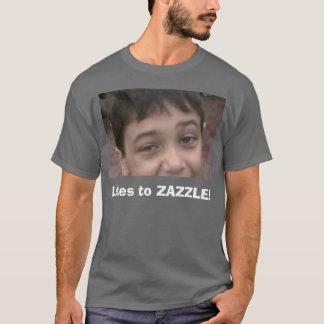 Likes to ZAZZLE! T-Shirt
