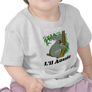 L'il Aussie. Cute Australian Koala Tee Shirt