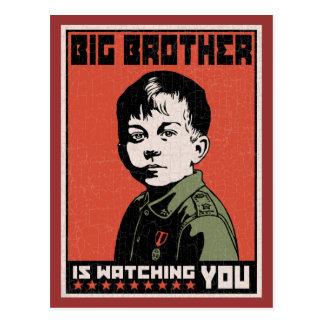 Li'l Big Brother Postcard
