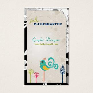 Lil Birdie Graphic Design Business Cards