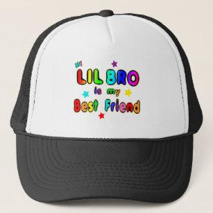 87fef4b62 I Love My Little Brother Baseball & Trucker Hats   Zazzle.com.au