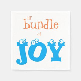 Lil' Bundle of Joy Baby Shower Paper Napkins