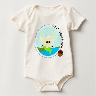 lil' CAPRICORN Baby Bodysuit