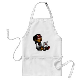 Lil Deadly Red Standard Apron