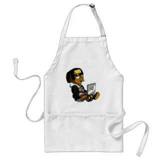 Lil Deadly Yellow Standard Apron