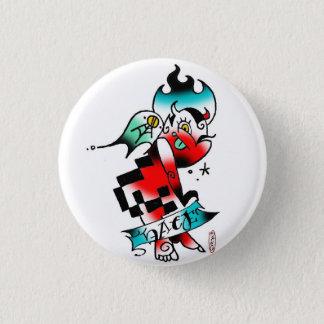 lil devil 3 cm round badge